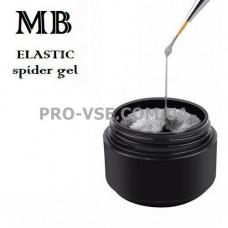Гель-краска паутинка №06 Серебро MB SpiderGel Silver 5 мл
