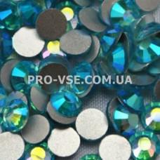 Стразы SS10 Аквамарин АВ 100 шт фото инкрустация ногти | PRO-VSE