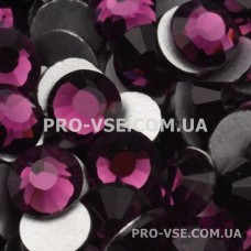 Стразы SS10 Аметист 100 шт фото инкрустация ногти | PRO-VSE