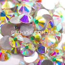 Стразы SS30 Crystal AB 10 шт фото ногти, маникюр | PRO-VSE