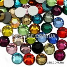 Стразы Сваровски SS 5 Микс цветов EsVorp 100 шт фото на ногтях | PRO-VSE