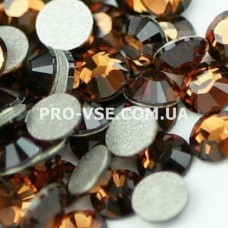 Стразы для ногтей SS 5 Мокко 100 шт фото на ногтях | PRO-VSE