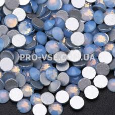 Стразы SS16 Опал синий 100 шт фото ногти, маникюр | PRO-VSE