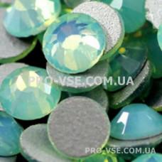 Стразы SS12 Опал зеленый 100 шт фото ногти, маникюр   PRO-VSE