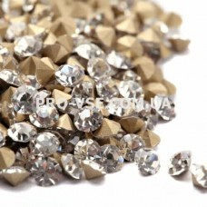 Стразы для ногтей SS 6 Crystal конусные 100 шт фото | PRO-VSE