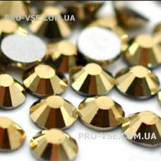 Стразы для ногтей SS 4 Золото хром 100 шт фото маникюр | PRO-VSE