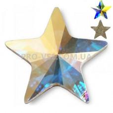 Стразы камни фигурные Crystal AB Звезда 8х8 EsVorp | PRO-VSE