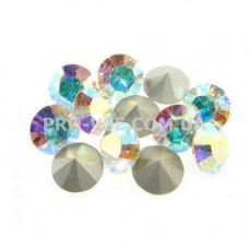 Конусные стразы Crystal AB SS3  0.193г (~100 шт) фото | PRO-VSE