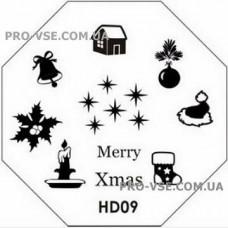 Диск для стемпинга HD 09