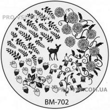 Диск для стемпинга BM-702