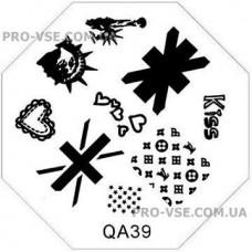 Диск для стемпинга QA 39