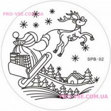 Диск для стемпинга YZW-Z (SPB) 02 фото | PRO-VSE