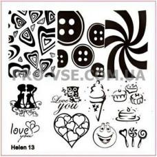 Пластина Helen 13
