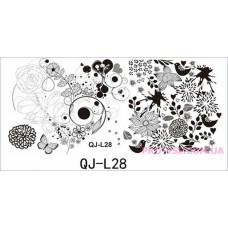 Пластина для стемпинга QJ-L28 фото | PRO-VSE