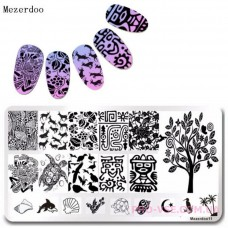 Пластина для стемпинга Mezerdoo 11 фото | PRO-VSE