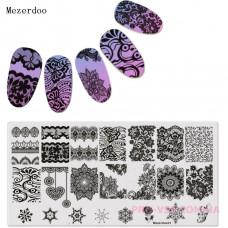 Пластина для стемпинга Mezerdoo 31