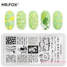 Пластина для стемпинга Mr.FOX-LC014 фото | PRO-VSE