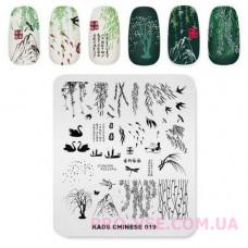 Пластина для стемпинга KADS CHINESE 019 фото | PRO-VSE