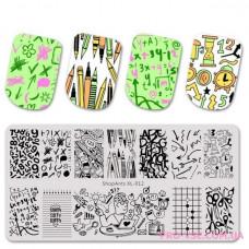 ShopAnts XL-012 пластина для стемпинга фото, обзоры, отзывы   PRO-VSE