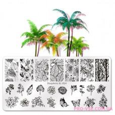 Пластина для стемпинга ShopAnts XL-014 фото, обзоры, отзывы   PRO-VSE