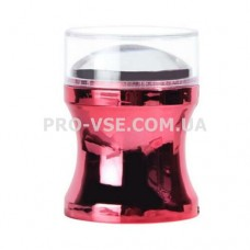 Штамп для стемпинга 3.8 см прозрачная подушка, Красный тубус, две акриловые пластины-скребки | PRO-VSE