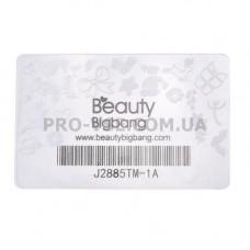 Скребок для стемпинга BeautyBigbang пластиковый | PRO-VSE