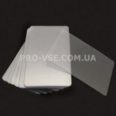 Скребок для стемпинга пластиковый гибкий Makartt 5.4 х 8.5 см | PRO-VSE