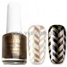 Краска для стемпинга Розовое золото Actuelle Nails 15 млфото | PRO-VSE