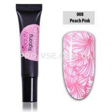 Гель-паста для стемпинга BeautyBigBang 008 Розовая фото | PRO-VSE