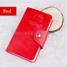 Органайзер, сумка для хранения пластин для стемпинга Manzilin Красный 24 фото