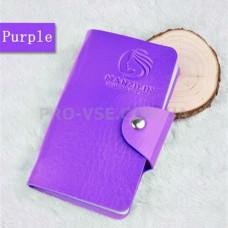 Органайзер, сумка для хранения пластин для стемпинга Manzilin Фиолетовый 24 фото