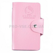 Органайзер, сумка для хранения пластин для стемпинга Manzilin Розовый светлый 20 фото