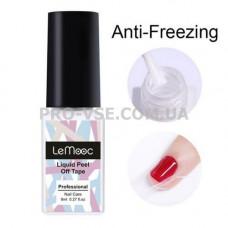 Жидкая лента Белая охлаждающая LeMooc Anti-Freezing 8мл | PRO-VSE