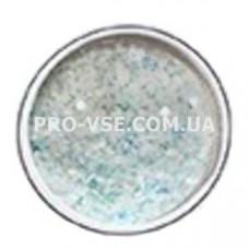 Декор для ногтей снежный микс, Голубой фото | PRO-VSE