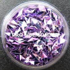 3D блестки ромб 05 Фиолетово-сиреневый хамелеон 1г фото