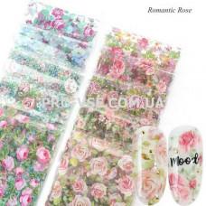 Набор фольги 10 шт Romantic Rose фото