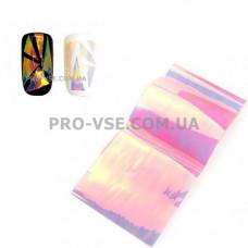 Фольга #3 Фиолетовая Эффект Битое стекло фото | PRO-VSE