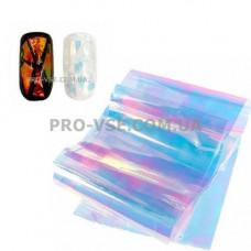 Фольга #5 Голубая Эффект Битое стекло фото | PRO-VSE