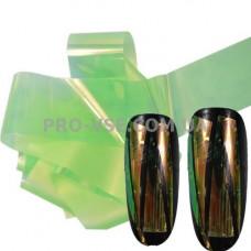 Фольга #7 Зеленая светлая Эффект Битое стекло фото | PRO-VSE