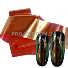 Фольга #8 Красная Эффект Битое стекло фото | PRO-VSE