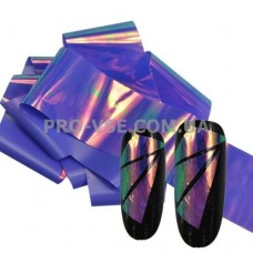 Фольга #11 Темно-фиолетовая Эффект Битое стекло фото | PRO-VSE