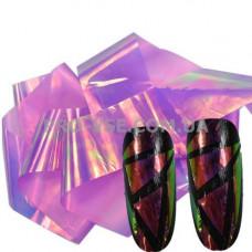 Фольга #17 Сиреневый Эффект Битое стекло фото | PRO-VSE