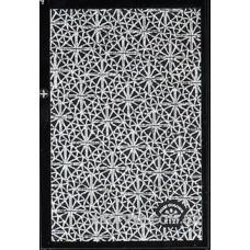 Наклейки для ногтей серебро голографическое литье 9.5*6.5 см R127 фото