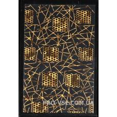 Наклейки для ногтей золото голографическое литье 9.5*6.5 см R128 фото