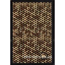 Наклейки для ногтей золото голографическое литье 9.5*6.5 см R135 фото