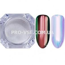 Пигмент, втирка единорог Розовый Unicorn Rainbow зеркальный хамелеон 0.2 г фото