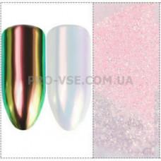 Пигмент, втирка единорог Розовый с зеленым отливом Candy Unicorn Rainbow Pink EsVorp 0.2 г очень мелкий помол фото