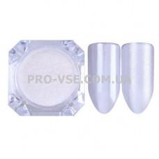 Зеркальный жемчужный пигмент Белый BornPretty 1 грамм