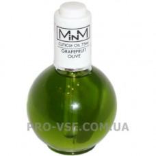Масло Грейпфрут для ногтей и кутикулы ароматизированное Cuticule Oil Grapefruit Olive M-in-M 75 г