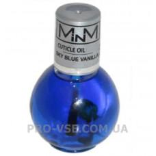 Масло Ванильное для ногтей и кутикулы с сухоцветами Cuticule Oil Vanilla Sky Blue M-in-M 11.5 г